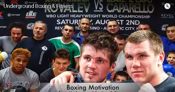 Underground Boxing Motivation